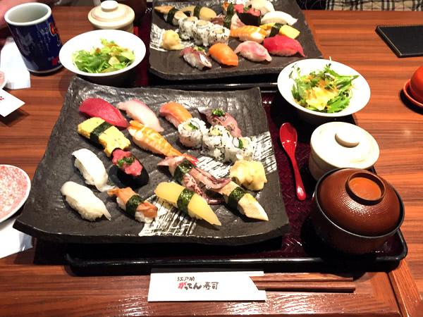 楽天ポイントで寿司を食べる