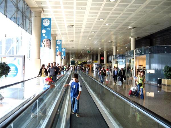 スペインのバルセルナ空港