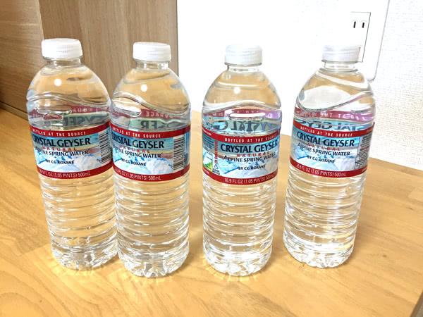 楽天市場で買った水