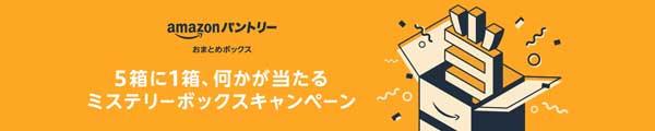 amazonパントリーミステリーボックスキャンペーン