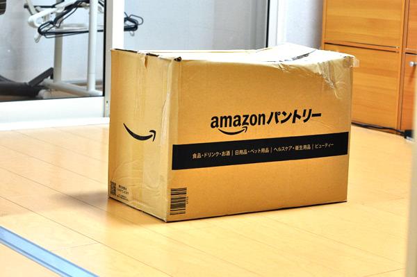 amazonパントリーで商品を注文してみた