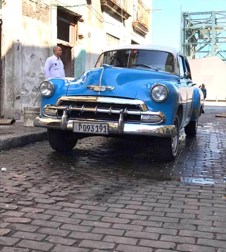 キューバの旧車