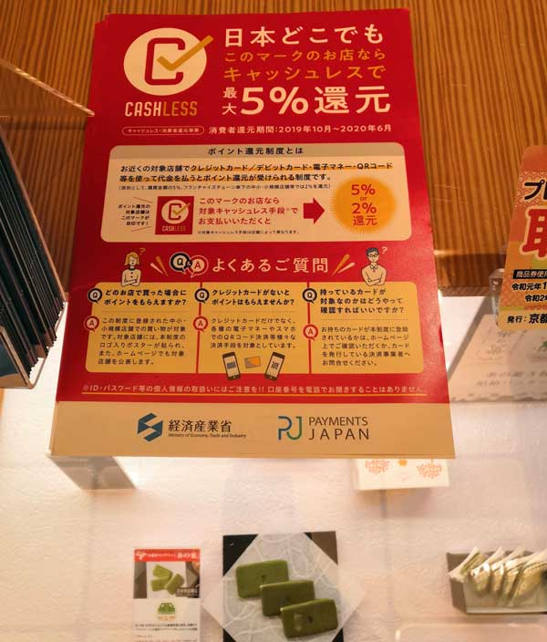 キャッシュレス消費者還元事業でNTTグループカードを使うと5%還元